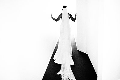 Surreal photo of bride - p1616m2187770 by Just - Schmidt