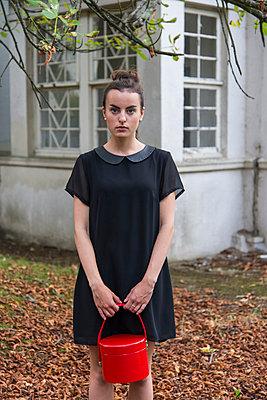 Das kleine Schwarze - p1066m943569 von Ulrike Schacht