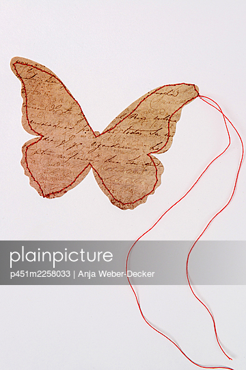 Butterfly - p451m2258033 by Anja Weber-Decker