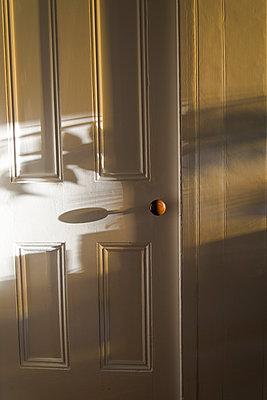 Door with shadows - p1170m1044353 by Bjanka Kadic