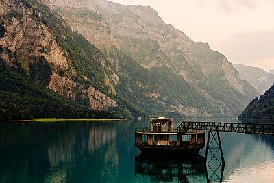 Kloen Valley, Lake, Switzerland - p1177m2076535 by Philip Frowein