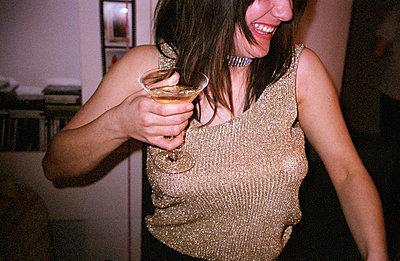 Sekt und Glitter - p0450113 von Jasmin Sander