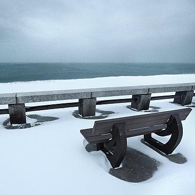 Meer im Winter - p1137m940631 von Yann Grancher