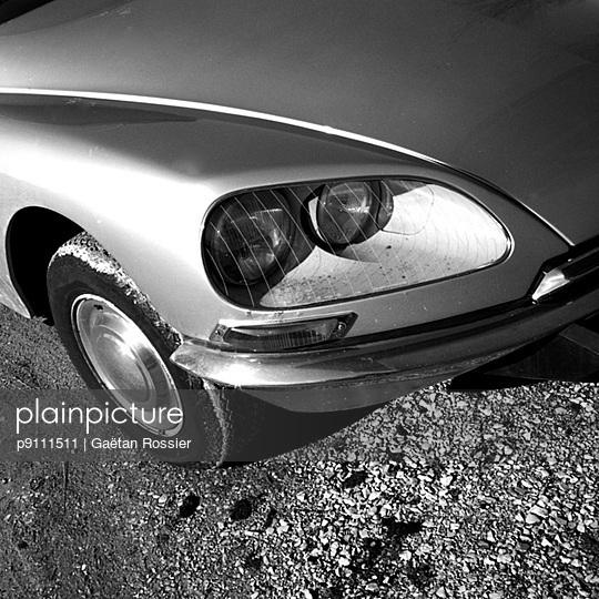 Vintage car - p9111511 by Gaëtan Rossier