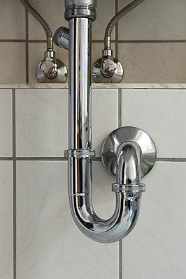 Abwasserrohr - p345m1200427 von Rainer Gollmer
