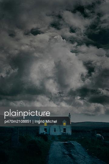 Bauernhaus in South Uist, Schottland - p470m2108851 von Ingrid Michel