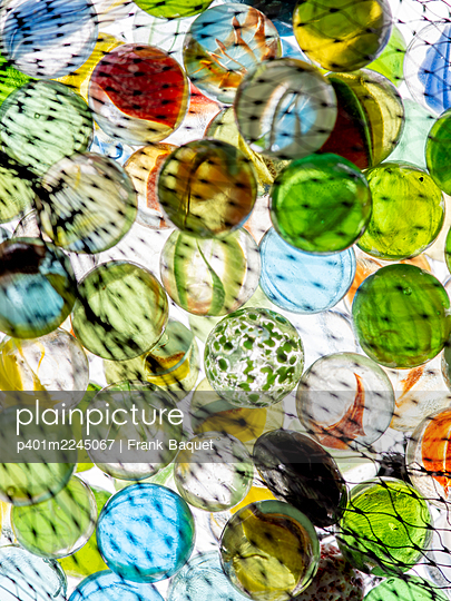 Glass marbles - p401m2245067 by Frank Baquet
