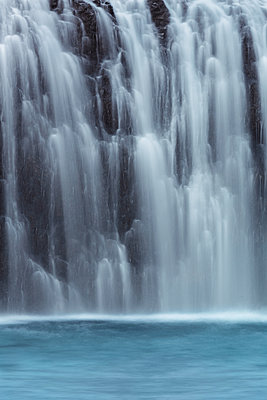 Stjornafoss Waterfall - p1280m1529059 by Dave Wall