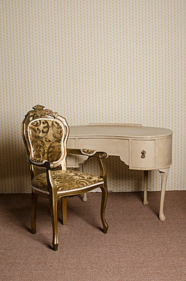 Dressing table and a chair - p794m813251 by Mohamad Itani
