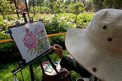Inspiration im Park - p5890031 von Thierry Beauvir