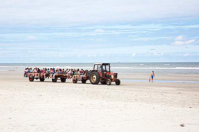 Traktor für Touristen - p606m1217639 von Iris Friedrich