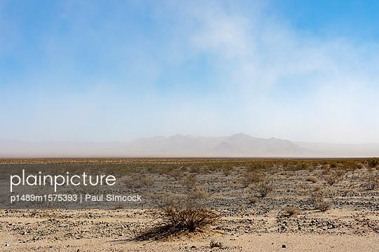 Mojave Desert Dust Storm - p1489m1575393 by Paul Simcock