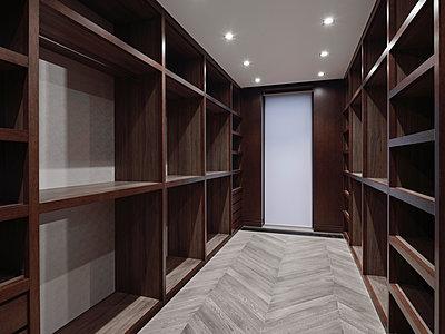 Luxuriöses Ankleidezimmer - p390m2185892 von Frank Herfort