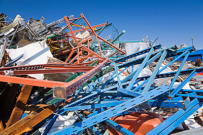 Scrap heap - p9243853f by Image Source