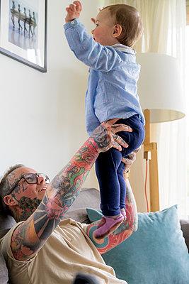 Vater und Kind - p1212m1440310 von harry + lidy