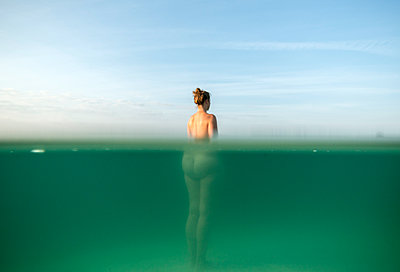 Nude in a lake - p1132m1171395 by Mischa Keijser