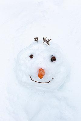 Sunken in the snow - p454m2209963 by Lubitz + Dorner