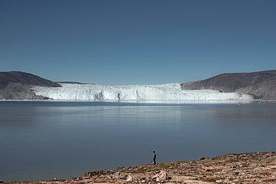Eqip Sermia Gletscher auf Grönland - p1486m1589837 von LUXart