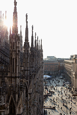 Cathedral of Milano - p300m1129900f by Nabiha Dahhan