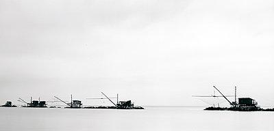 Senknetztfischerei im Mündungsdelta des Po - p1016m815724 von Jochen Knobloch