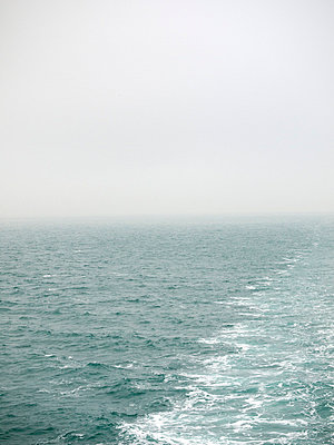 Misty seascape from ferry - p388m702057 by Andre