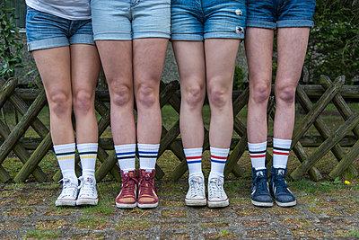 Tennis socks - p1066m1122622 by Ulrike Schacht