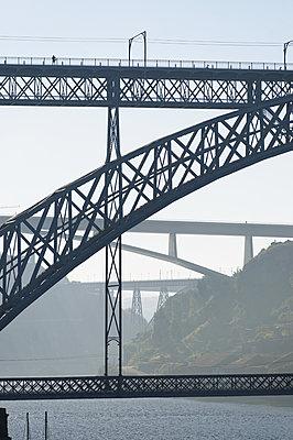 Bridge Ponte Maria Pia in Porto - p1041m2090469 by Franckaparis