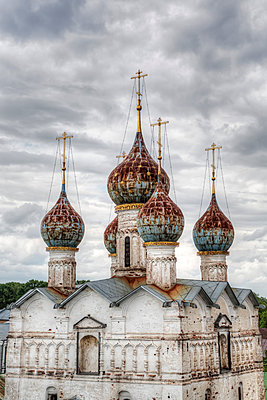 Church of our Saviour on the Marketplace, Golden Ring; Rostov Veliky, Yaroslavl Oblast, Russia - p442m2154966 by Richard Maschmeyer