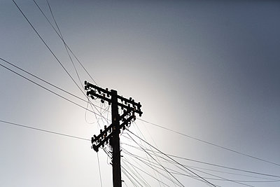 Power line - p1477m2038974 by rainandsalt