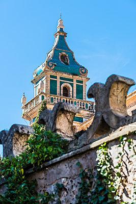 Kirchturm, Kartause von Valldemossa - p488m1332439 von Bias