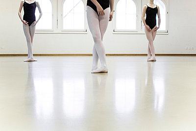 Three ballet dancers - p5880007 by Bjoern