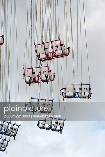 Seats of a chairoplane - p300m2213869 by visual2020vision