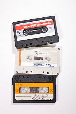 Three music tapes - p1980209 by David Breun