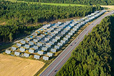 Solar farm - p312m1107509f by Hans Berggren