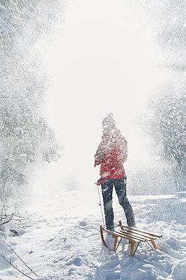 Snow flurry - p464m1109116 by Elektrons 08