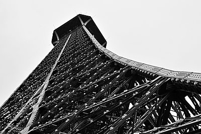 the Eiffel Tower in Paris, France - p1423m2076446 by JUAN MOYANO