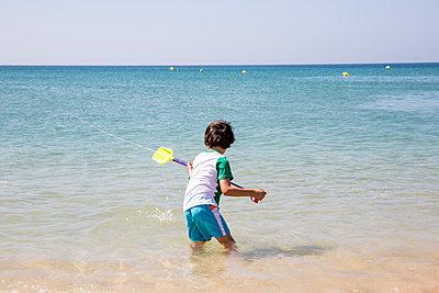 Beach Life - p535m2093552 by Michelle Gibson