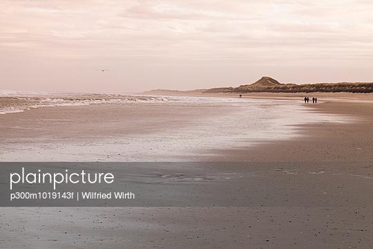 Germany, Langeoog Island, coastal landscape - p300m1019143f by Wilfried Wirth