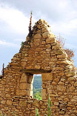 Steinhaus Ruine - p260m918284 von Frank Dan Hofacker