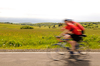 Cyclists - p470m758159 by Ingrid Michel