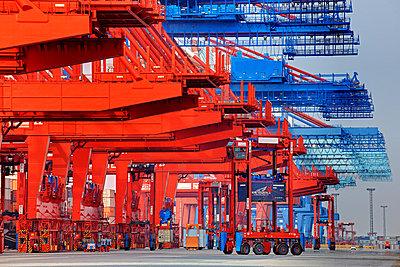Containerterminal Bremerhaven - p1099m882907 von Sabine Vielmo