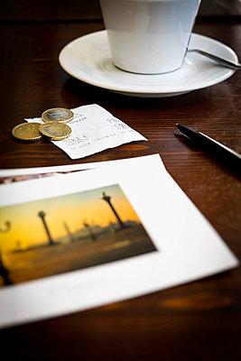 Café in Venedig - p1149m1333010 von Yvonne Röder