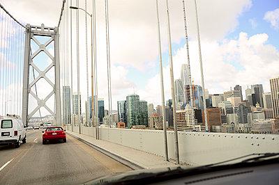 Bay bridge - p1242m1586306 von teijo kurkinen