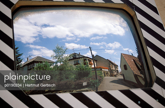 Verkehrsspiegel - p0190234 von Hartmut Gerbsch