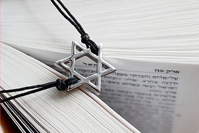 Torah and Star of David, two symbols of Judaism, Vietnam, Southeast Asia - p871m2122935 by Godong