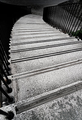 Stone steps leading down - p1280m1585975 by Dave Wall