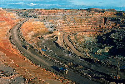 Copper mine - p3434185 by Robert Caputo