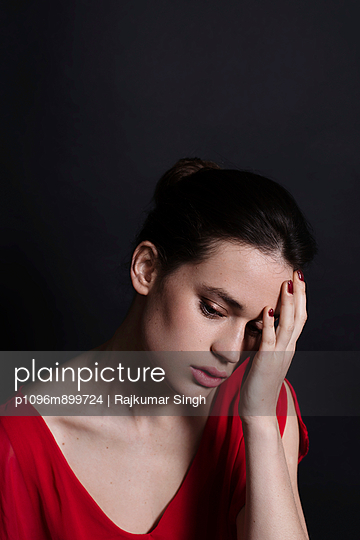 Portraits of a Woman - p1096m899724 by Rajkumar Singh