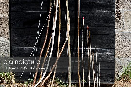Selbstgebaute Bogen - p1116m1217045 von Ilka Kramer