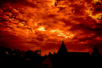 Dramatic sunset - p248m858886 by BY